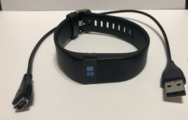 FITBIT CHARGE HR ACTIVITY FITNESS TRACKER HEART RATE WRISTBAND SIZE S/P - $44.99