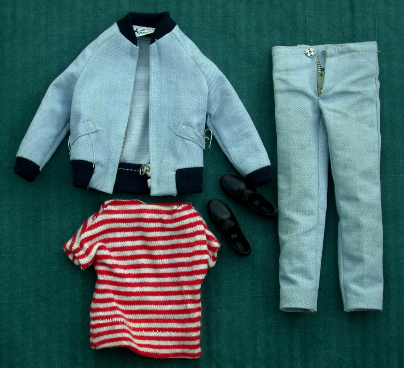 Primary image for Ken Doll Vintage Yachtsman Outfit #789 Exc 1962-63 Barbie Mattel Clothing