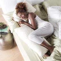 Avana Ellipse Memory Foam Body Pillow For Side ... - $75.49