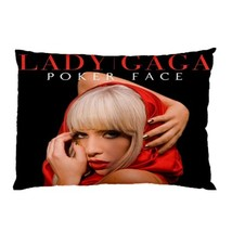 "Lady Gaga Pillow Case 30""X20"" Full Size Pillowcase - $19.00"