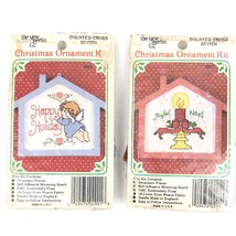 Vintage Counted Cross Stitch Christmas Ornament Kit New Berlin Co - U Pick - $11.92