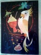 Disney Wonderground Gallery Tiki Room Gigi Art Postcard, NEW - $13.95