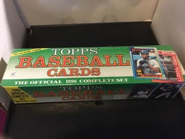 1990 Topps Baseball Card Factory Set Sealed NM/M Condition 792 Cards Tho... - $16.99