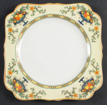 "(3) Rare Crown Ducal A1476 Pattern square plates /saucers  6.5"" Late 193... - $15.83"