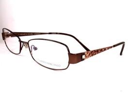 Carmen Marc Valvo Ceclia Cocoa Women Eyeglasses 53-16-130 Frames - $79.16