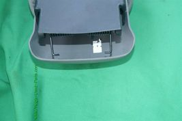 06-11 Honda Civic Sliding Armrest Arm Rest Center Console Lid Cover Fabric Gray image 7