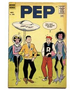 Pep #151 comic book 1961-Archie-flying saucer cover-aliens-Betty-Veronic... - $63.05