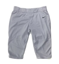Nike Stock All Out Softball Game 3/4 Pant Women's XXL Gray 553208 - $25.53