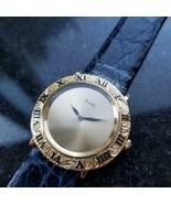 Unisex Piaget 18K Gold ref.9118 Manual Wind 30mm Dress Watch 1970s Swiss... - $3,861.00