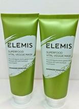 Elemis Superfood Vital Veggie Mask 75mL / 2.5 oz EA.Lot of 2 - - $14.24