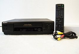 Sony SLV-478 DA Pro 4 Head VCR VHS Player Recorder with quick Mechanism - $88.20