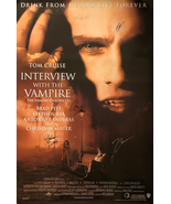 INTERVIEW WITH THE VAMPIRE MOVIE POSTER SIGNED BY CAST - $180.00