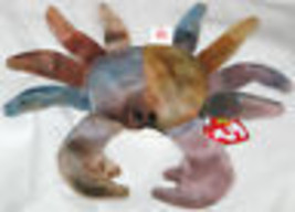 TY Beanie Baby Claude Crab Original Retired Hang Tag Attached 1996 USA - $9.39