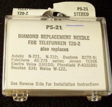 841-DS73 RECORD PLAYER NEEDLE for Telefunken A20/2 A22/2 A22/DS A20/DS T-20 T-22 image 2