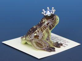 Birthstone Frog Prince Kissing December Zircon Miniatures by Hagen-Renaker image 3