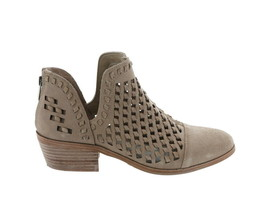 Vince Camuto Suede Cutout Booties Phortiena Sand 7.5M NEW A343284 - £89.93 GBP