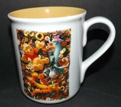 "Disney Store Winnie the Pooh Friends Tigger Eeyore Large 4.5"" X 4"" Mug Cup - $21.49"