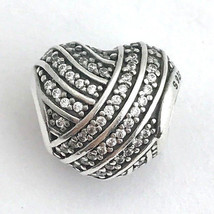 Authentic Pandora Love Lines Sterling Silver Charm 791885CZ, New - $38.94