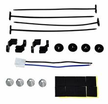 """16"""" Electric Curved 8 Blade Reversible Cooling Fan 3000CFM Thermostat Kit image 9"""