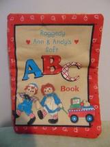 Raggedy Ann & Andy's Soft ABC Plush Book - $9.89