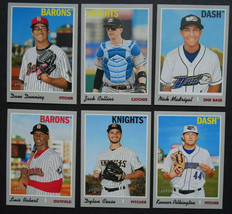2019 Topps Heritage Minor League Chicago White Sox Master Team Set 8 Card - $12.99