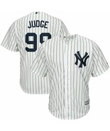 New York Yankees Aaron Judge Majestic Authentic Home White/Navy Cool Bas... - $119.00