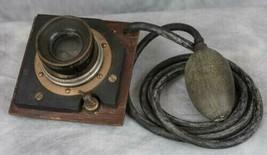 Vintage Tornitore Reich Anastigmat f7 Convertible Large Formato Ottone L... - $1,015.18