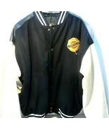 Men's Chrysler Varsity Jacket Size XL Wool Front Faux Leather Back See Photos - $58.03