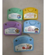Leap Frog Little Touch Library Lot of 5 Cartridge Only Disney Dora Anima... - $14.99