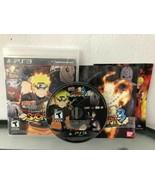 Naruto Shippuden Ultimate Ninja Storm 3 (PlayStation 3, 2013) CIB, PS3 - $8.67