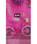 Barbie Bicycle! 1 foot pedal missing but good preowned condition overall... - $20.00