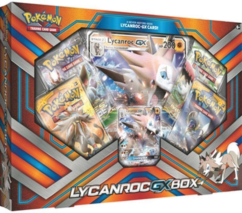 Lycanroc GX & Snorlax GX Booster Box Pokemon TCG Sun & Moon Sealed Booster Packs