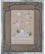 It's Snowing Men #1 Just Dropping In Seasonal series cross stitch chart ... - $13.05
