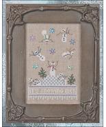 It's Snowing Men #1 Just Dropping In Seasonal series cross stitch chart Just Nan - $13.05