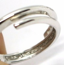 REBECCA BRONZE TRILOGY RING, GREEN ROUND CRYSTAL, BWSABS01, MADE IN ITALY  image 2