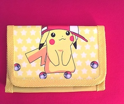 Pokemon/ Pikachu Children's Wallet— More Fun Characters Available Too NEW! - $7.00