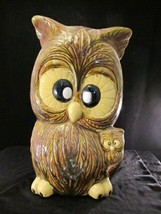 Owls - Crosseyed Brown Owl Bank Vintage - $16.34