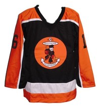 Custom Name # Baltimore Clippers Retro Hockey Jersey New Black Any Size image 1