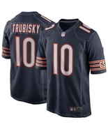 Men's Mitchell Trubisky Jersey #10 Chicago Bears Home Football Jerseys - $47.99