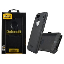 OEM Otterbox Defender Series Black Case Holster For iPhone 8 PLUS 7 PLUS  - £13.69 GBP