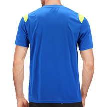 Men's Gym Workout Sport Two Tone Running Performance Quick-Dry T-shirt image 6
