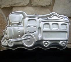 Wilton Train Cake Pan Mold 2105 2076 Engine Caboose 2003 Aluminum Instru... - ₨795.96 INR