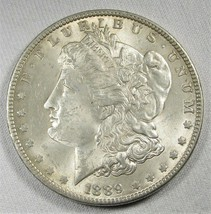 1889-P Silver Morgan Dollar CH UNC Coin AG529 - $52.18