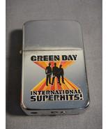 GREEN DAY INTERNATIONAL SUPERHITS! DESIGN TORCH CIGARETTE LIGHTER - $5.89