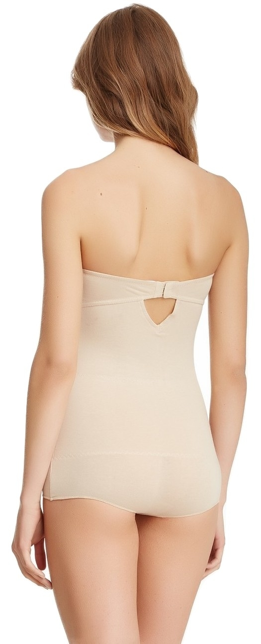 Skweez Couture Strapless Shaping Bodysuit Shapewear By Jill Zarin