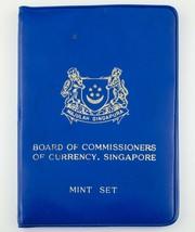 1970 Singapore Excellent État Kit En Hors-Circulation W / Bleu Pochette Et - $103.93