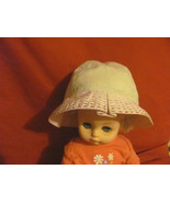 Cap Hat Gap Newborn to 3 Mos Embroirdery Beige ... - $3.99