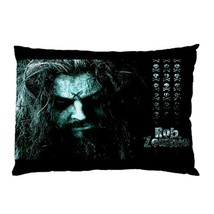 "Rob Zombie Rock Band Hot Rare 30""X20"" Pillow Case - $19.00"