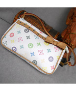 White Clutch Handbag Purse - $16.00
