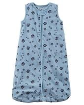 Carters Unisex Baby Fleece Sleepbag Sleepsuit, Sleeveless Blue Paws, Sma... - $22.95
